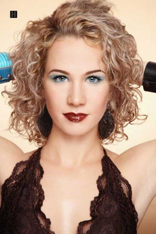 15 curly perms for short hair Short Hair Perm Styles Inspirations