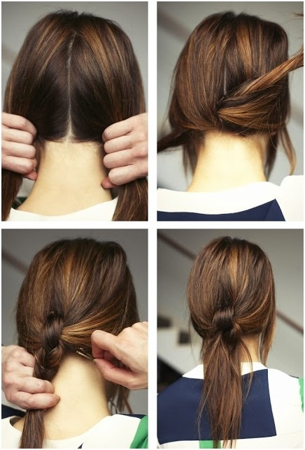 15 cute and easy ponytail hairstyles tutorials popular Cute Ponytails For Short Hair For School Ideas