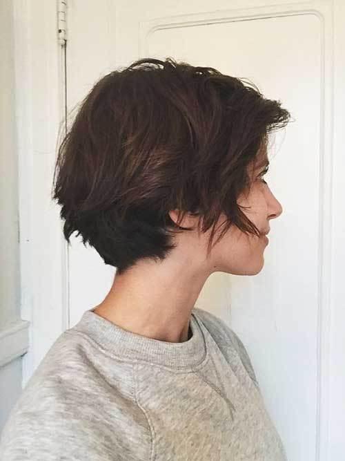 15 wonderful brown short hairstyles crazyforus Light Brown Short Hair Styles Ideas