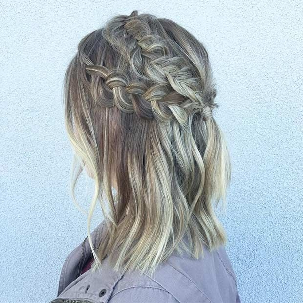 17 chic braided hairstyles for medium length hair stayglam Braided Hairstyles For Medium Length Hair With Layers Choices