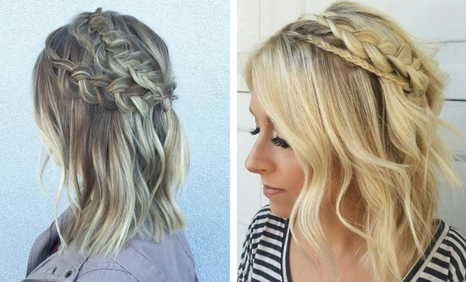 17 chic braided hairstyles for medium length hair stayglam Braided Hairstyles For Medium Length Hair With Layers Inspirations