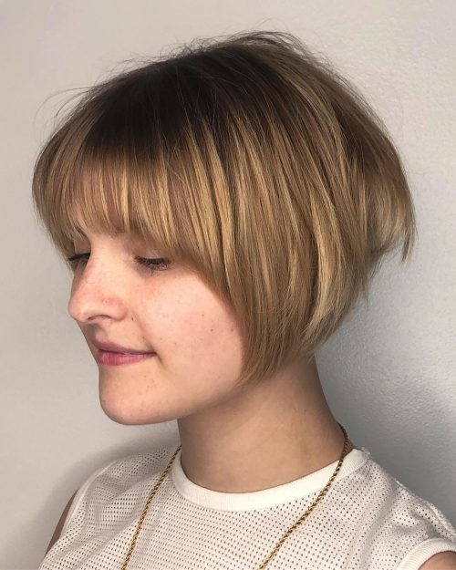 17 hottest short bob with bangs youll see in 2020 Short Hair Bobs With Bangs Choices