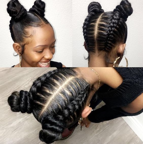 20 cute hairstyles for black teenage girls to try in 2020 Hairstyles For African American Tweens
