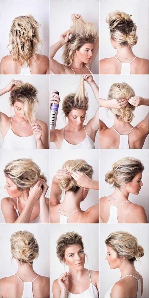 20 incredible diy short hairstyles a step step guide Cute Short Hairstyles At Home Ideas