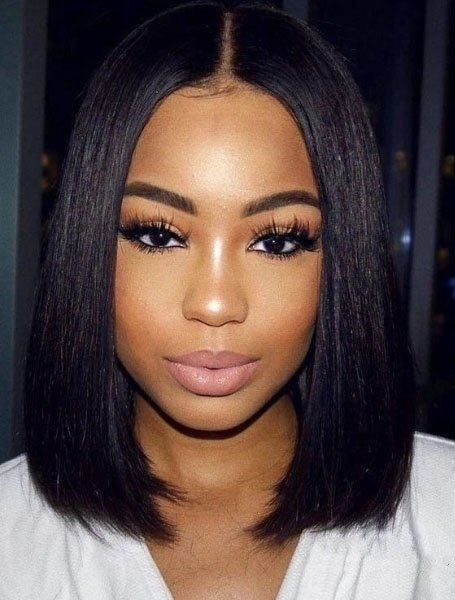 20 sexy bob hairstyles for black women in 2020 the trend Medium Length African American Bob Hairstyles Designs