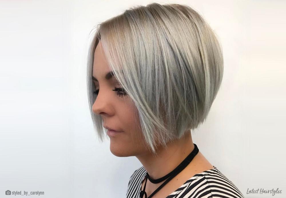 21 bob hairstyles for fine hair trending in 2020 Short Bob Hairstyles With Bangs For Fine Hair Inspirations