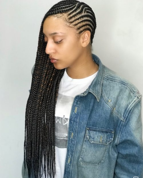 21 cool cornrow braid hairstyles you need to try in 2020 Side Cornrows Hairstyles