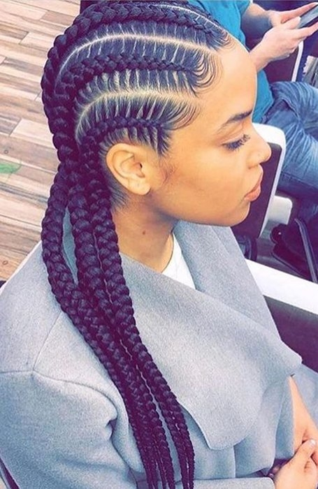 21 coolest cornrow braid hairstyles in 2020 the trend spotter New Cornrows Braided Hairstyles