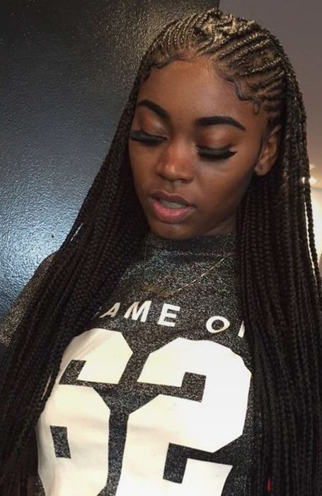 21 coolest cornrow braid hairstyles in 2020 the trend spotter Small Cornrow Hairstyles