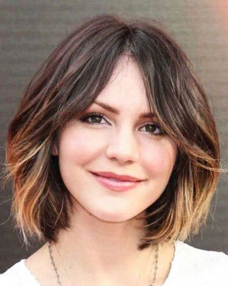 23 short hairstyles for round faces Short Hairstyles With Bangs And Layers For Round Faces Choices