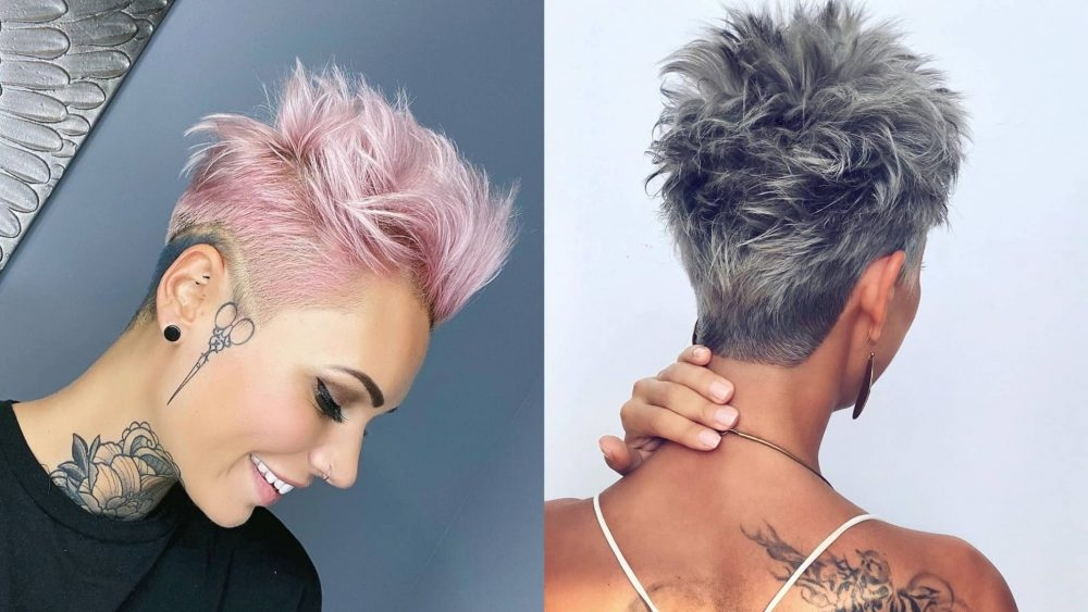 23 short spiky haircuts for women stylesrant Spiked Short Hair Styles Ideas