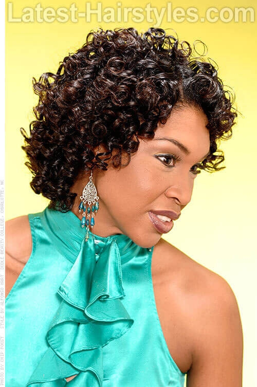 24 amazing prom hairstyles for black girls for 2020 Prom Hairstyles For Short Hair African American Designs