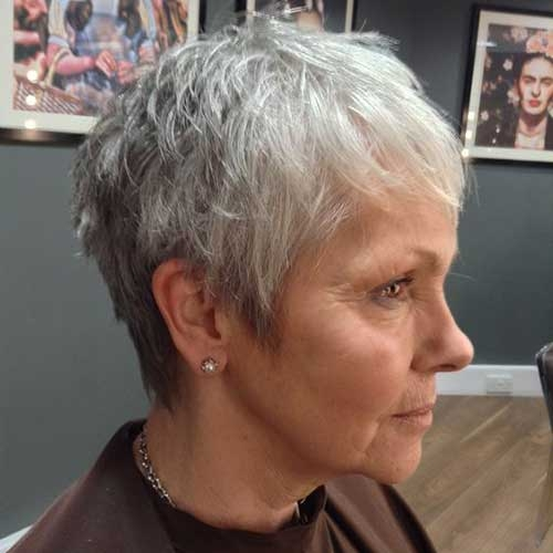 25 best short haircuts for older women with thin hair Short Haircuts For Women With Fine Hair Inspirations