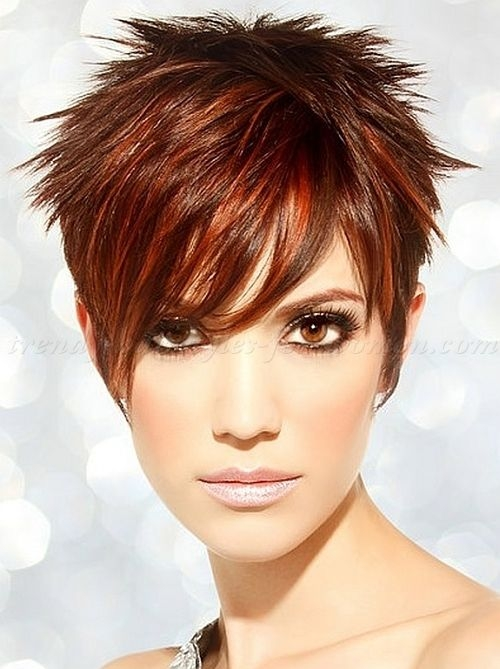 25 short spiky haircuts 2018 latest hairstyles 2020 new Short Spiky Red Hair With Blonde Highlights Choices