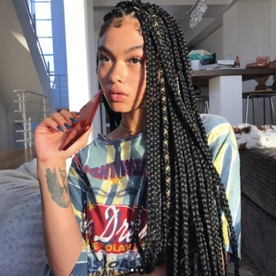 28 dope box braids hairstyles to try allure Pictures Of Hair Braids Styles Inspirations