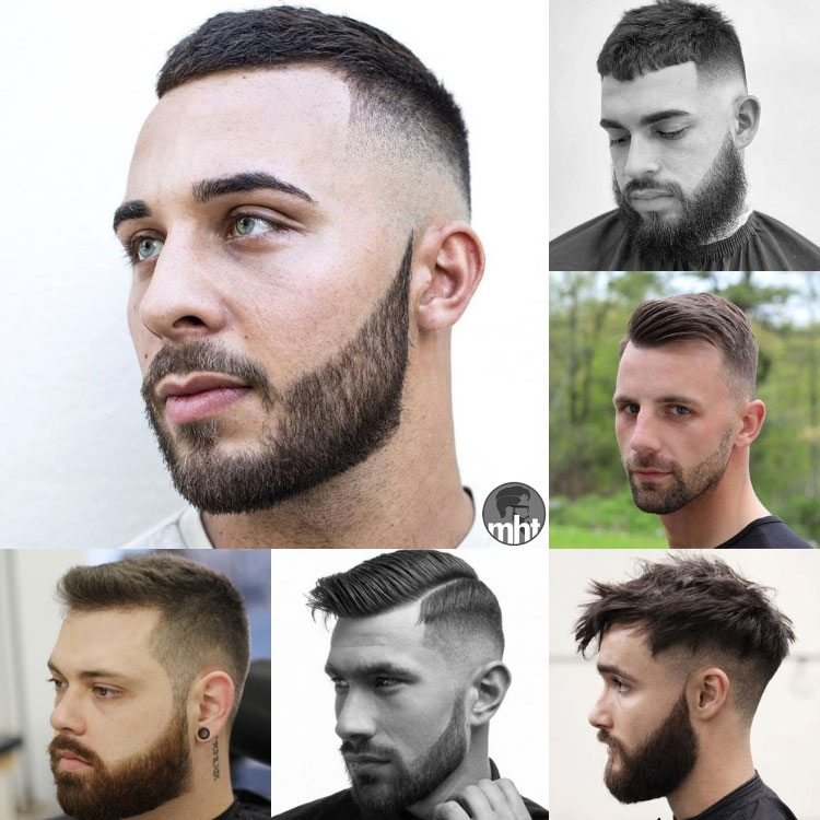 29 best short hairstyles with beards for men 2020 guide Mens Short Facial Hair Styles Ideas