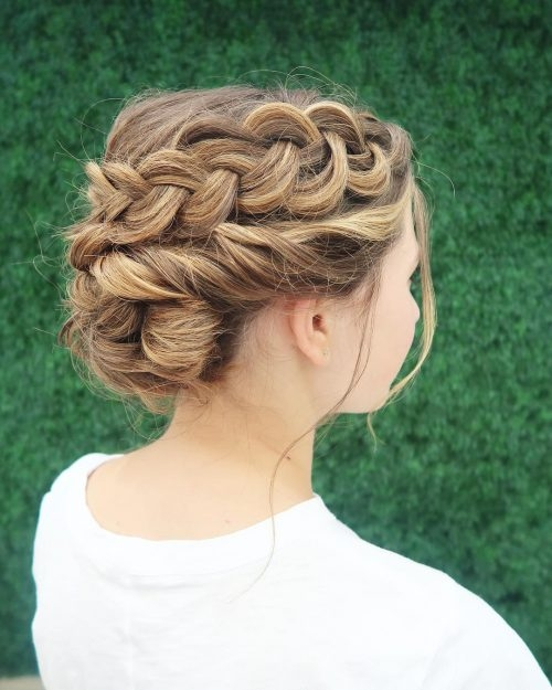 29 gorgeous braided updos for every occasion in 2020 Hairdos Braids Long Hair Choices