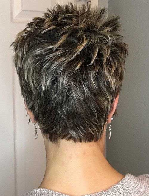 30 back view of short layered haircuts short haircut Womens Short Haircuts Front And Back Ideas