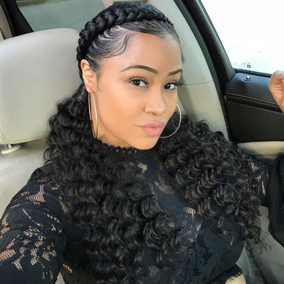 35 braid hairstyles with weave Braiding Hair Styles Ideas