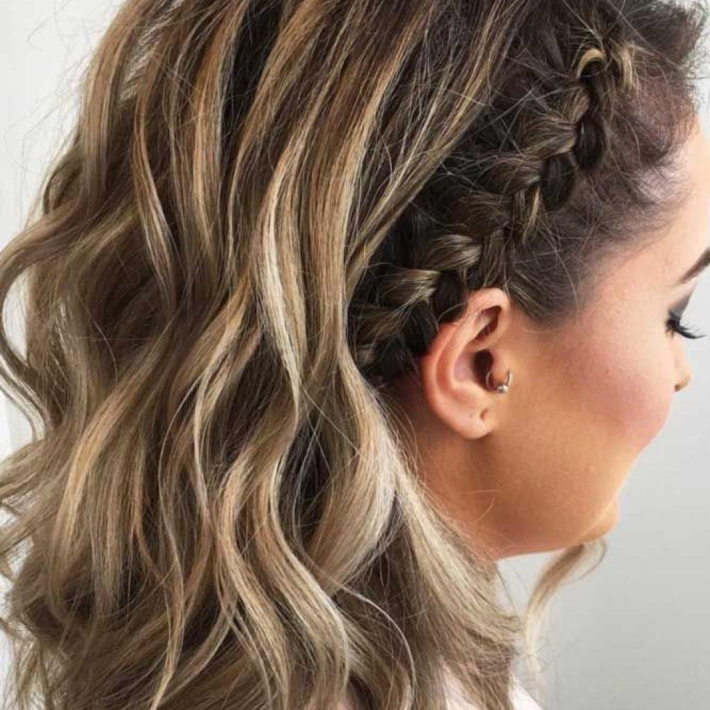 35 cute braided hairstyles for short hair lovehairstyles Cute Hairdos For Short Hair Braids Inspirations