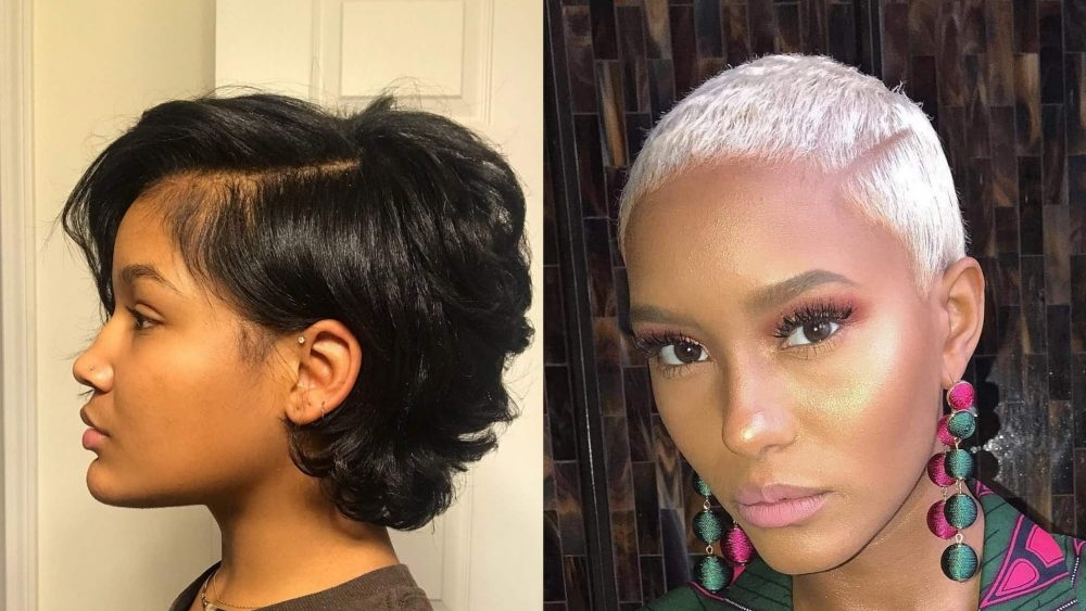 38 short hairstyles and haircuts for black women stylesrant Black Styles For Short Hair Ideas