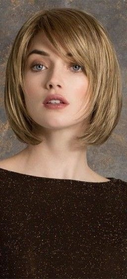 38 short layered bob haircuts with side swept bangs that Short Hair With Side Swept Bangs And Layers Ideas