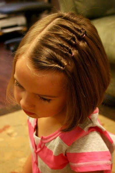 4 simple hairstyles for kids with short hair kids Hair Styles For Kids With Short Hair Ideas