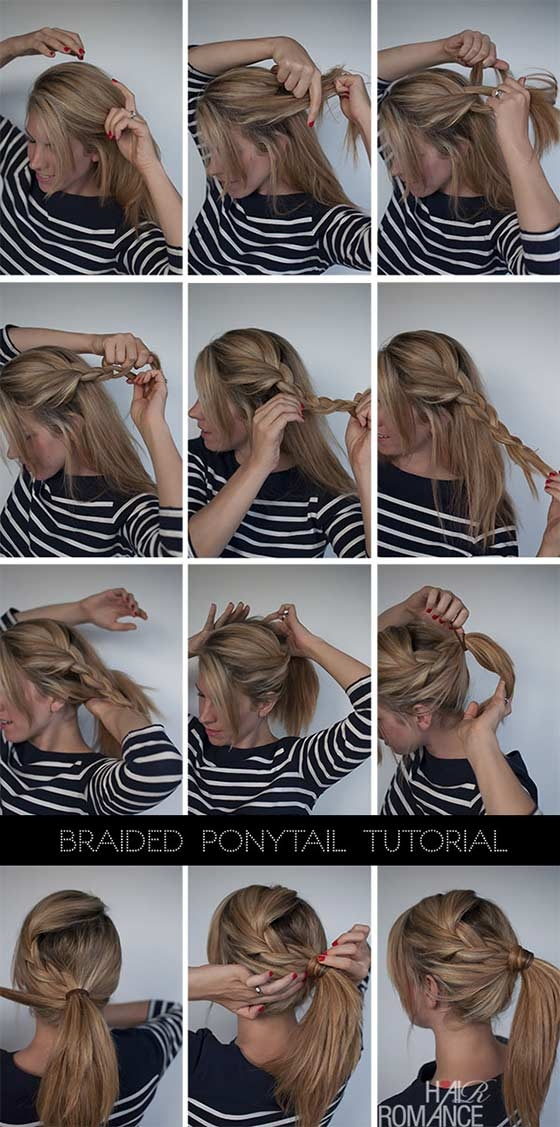 40 braided hairstyles for long hair Easy Braided Hairstyles For Medium Long Hair Ideas
