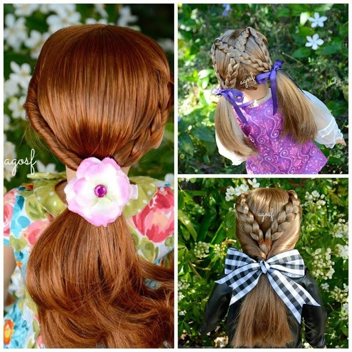 40 cute beautiful american girl doll hairstyles 2020 guide Fun And Easy Hairstyles For American Girl Dolls Ideas