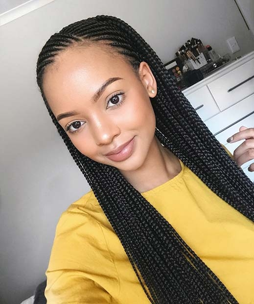47 of the most inspired cornrow hairstyles for 2020 Straight Up Cornrows Hairstyles