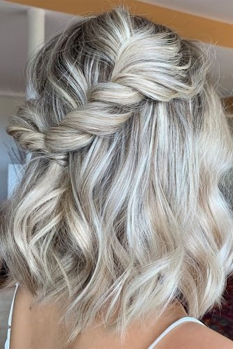 48 perfect bridesmaid hairstyles ideas wedding forward Maid Of Honor Hairstyles For Short Hair Ideas