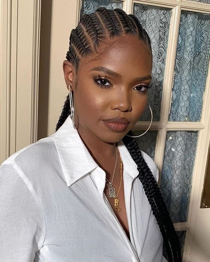 5 awesome hairstyles to make for the rainy season in 2020 Cornrows Hairstyles Braids For Black Women