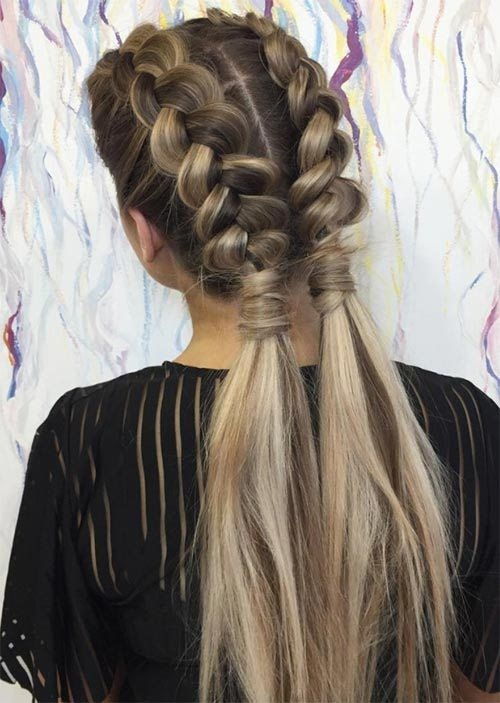 51 pretty holiday hairstyles for every christmas outfit Cute Braid Long Hair Choices