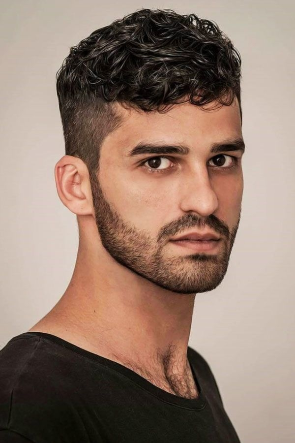 55 sexiest short curly hairstyles for men menshaircuts Cool Hairstyles For Guys With Short Curly Hair Ideas