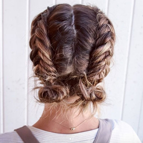 59 cute easy updos for short hair 2020 styles Easy Updo Hairstyles For Short Length Hair Inspirations