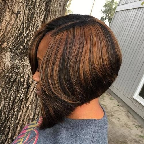 60 showiest bob haircuts for black women hair styles African American Hairstyles With Highlights Ideas