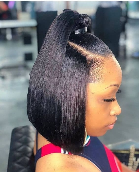65 short weave hairstyles you may love hair theme African American Straight Weave Hairstyles Ideas
