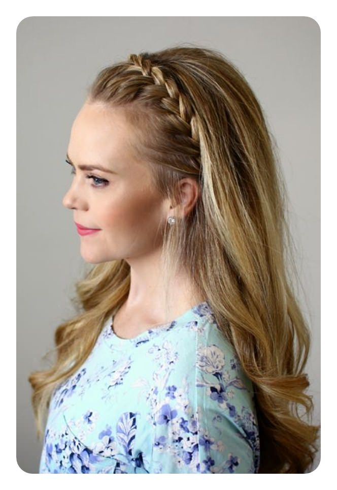 68 best headband braids for you Braided Hair Band Styles Inspirations