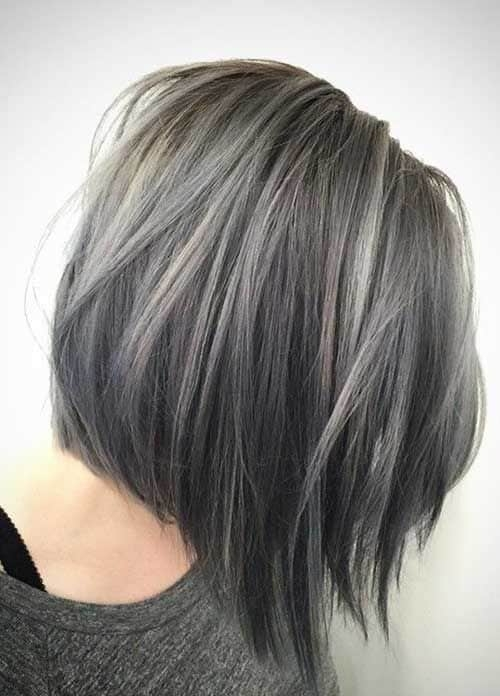 7 best short grey ombre hairstyles for women in 2020 Short Gray Hair Styles Ideas