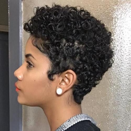 75 most inspiring natural hairstyles for short hair short Curly Styles For Short Black Hair Choices