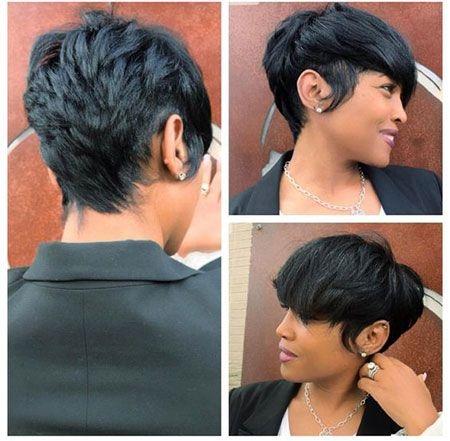 80 best short pixie hairstyles for black women in 2020 Short Pixie Haircuts For Black Hair Inspirations