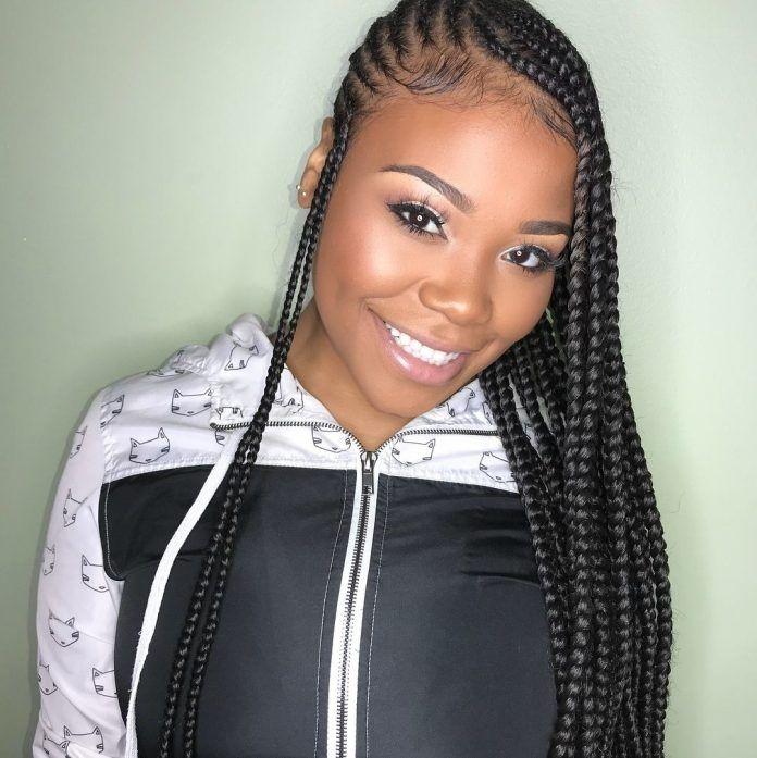 87 cornrow hairstyles for black women ideas in 2019 street Cornrows Hairstyles Braids For Black Women