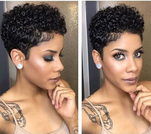 Awesome 10 startling curly perm hairstyles for black women African American Permed Hairstyles Ideas