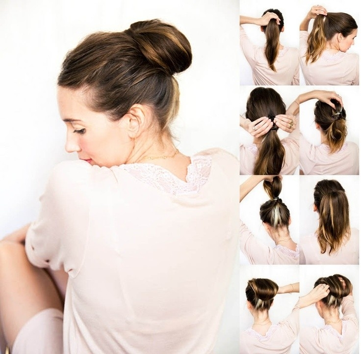 Awesome 10 super easy updo hairstyles tutorials popular haircuts Easy Updo Hairstyles For Short Length Hair Inspirations