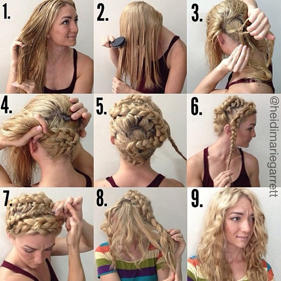 Awesome 10 techniques to get chic wavy hair Ways To Braid Your Hair At Night Choices