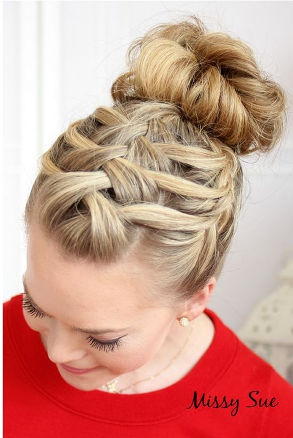 Awesome 101 romantic braided hairstyles for long hair and medium hair Simple Braided Hairstyles For Medium Length Hair Choices