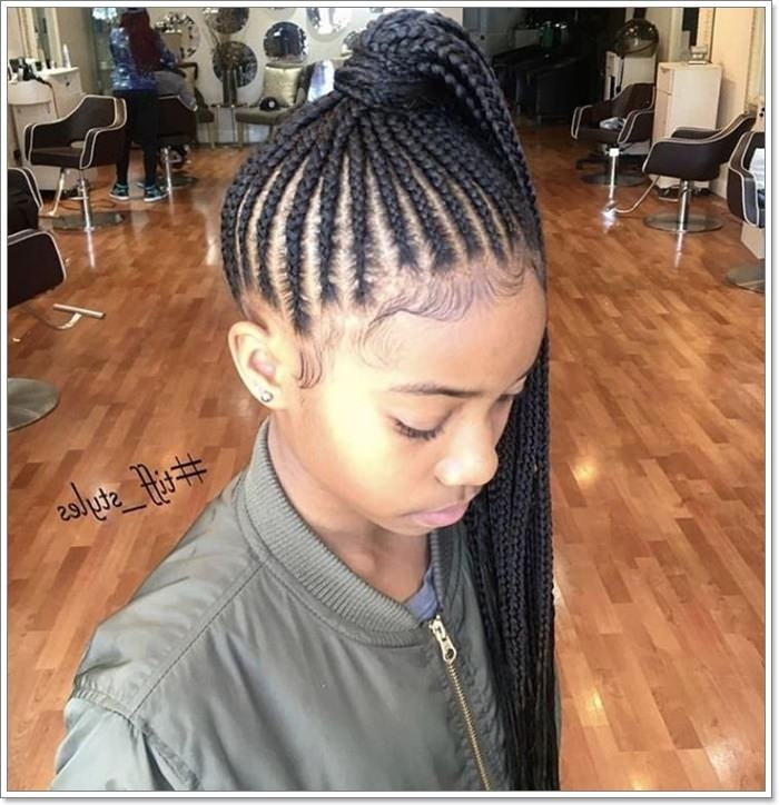 Awesome 103 adorable braid hairstyles for kids Black Kids Hair Braiding Styles Choices