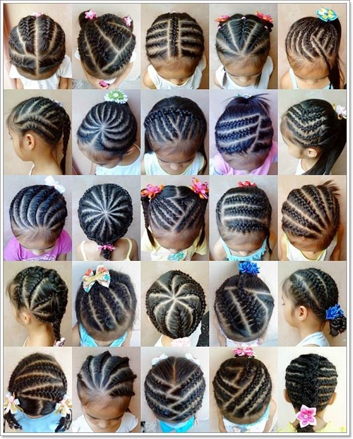 Awesome 103 adorable braid hairstyles for kids Natural Hairstyles For Kids With Short Hair Inspirations