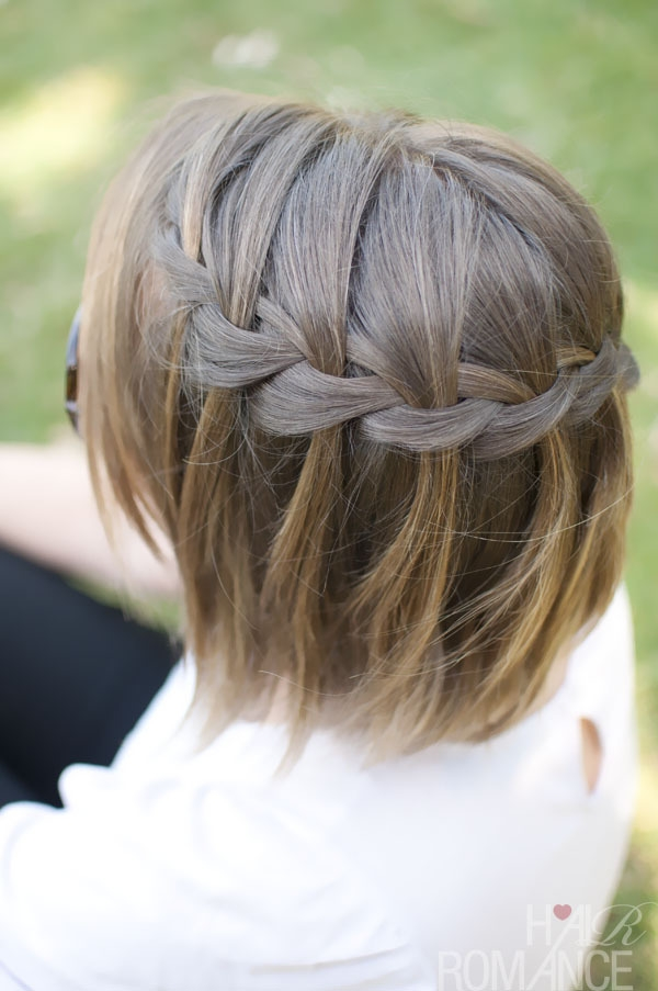 Awesome 11 beautiful braids for short hair more Braided Hairdos For Short Hair Ideas