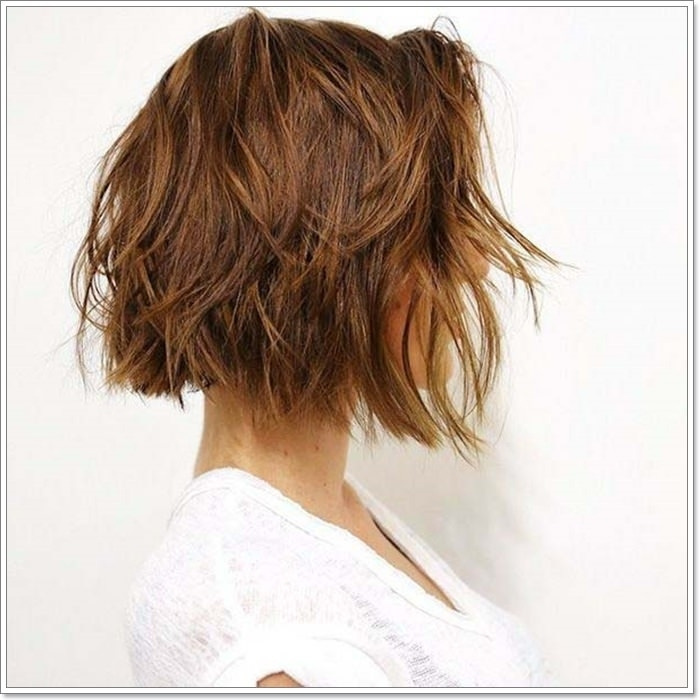 Awesome 113 trendiest short layered hair for the summers Short Long Layered Haircuts Choices